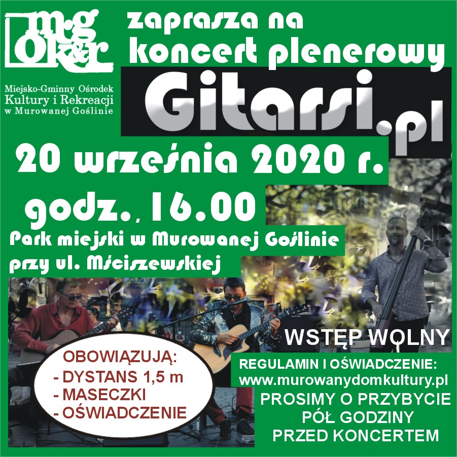Koncert plenerowy Gitarsi.pl