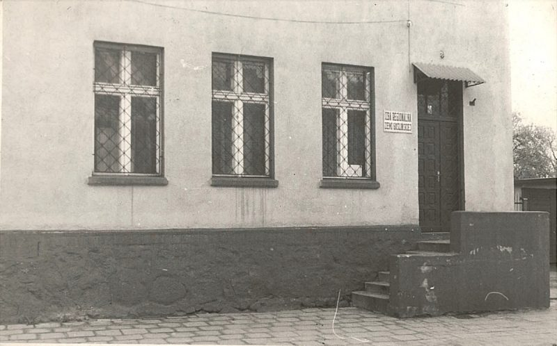 Pierwsza siedziba Izby Regionalnej