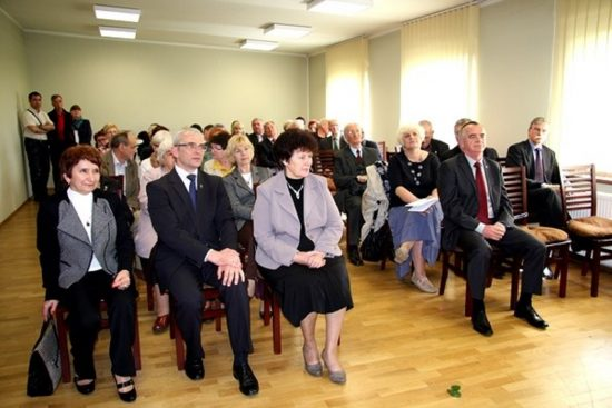 Uczestnicy uroczystości z okazji 25. rocznicy powstania Izby Regionalnej