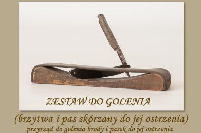 ZESTAW DO GOLENIA (brzytwa i pas skórzany do jej ostrzenia)