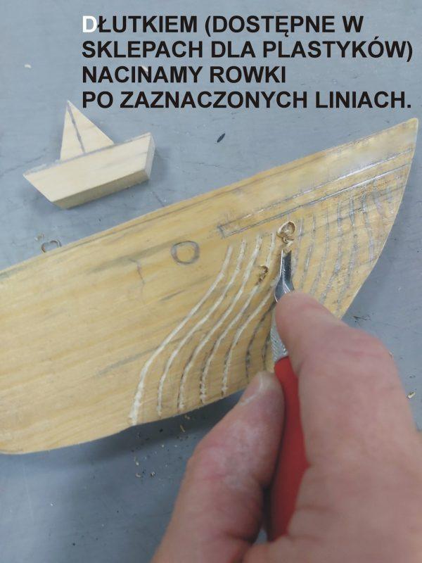 Rzeźbienie wieloryba