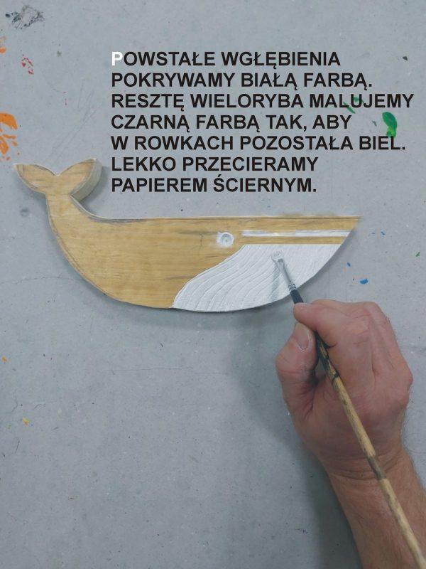 Malowanie wieloryba