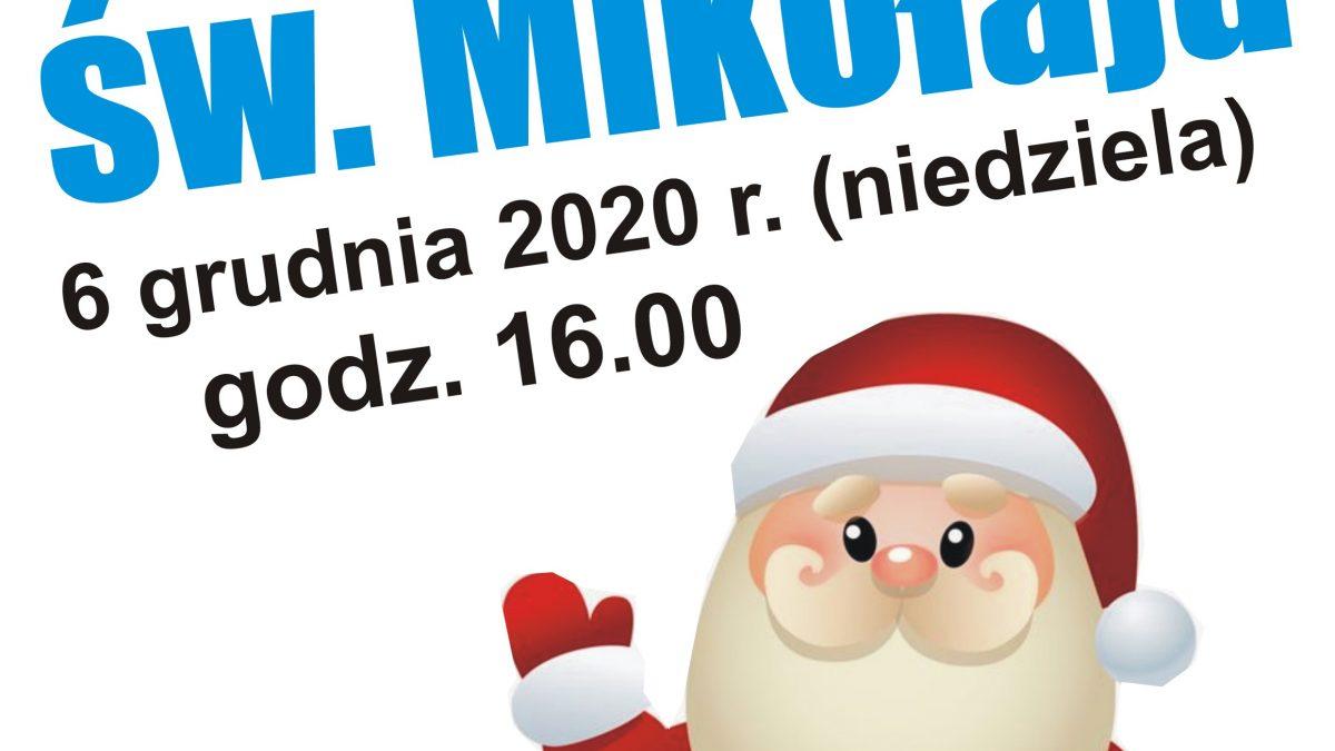 Wizyta św. Mikołaja - plakat