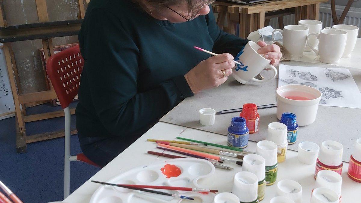 Malowanie kubków