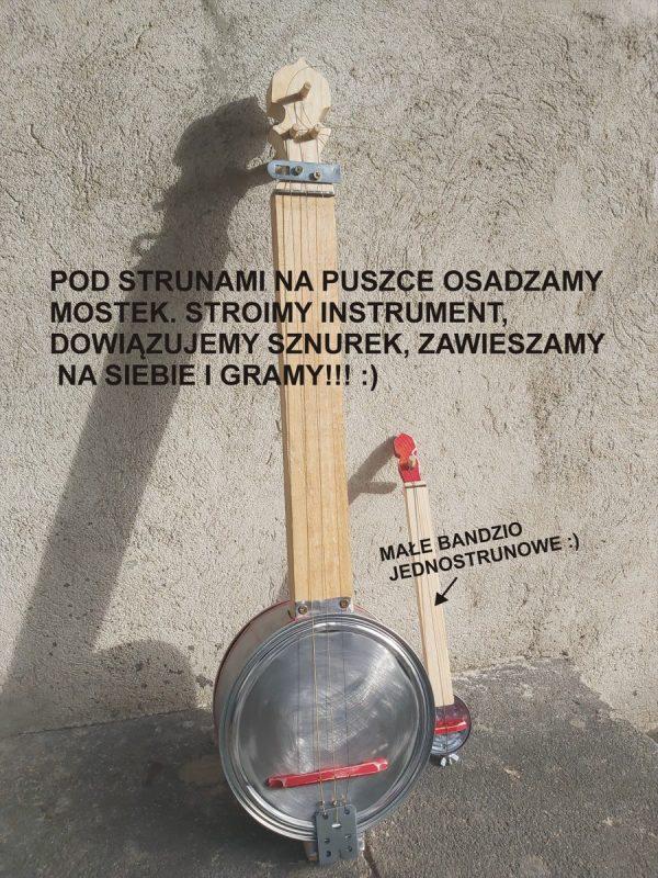 Banjo oparte o ścianę