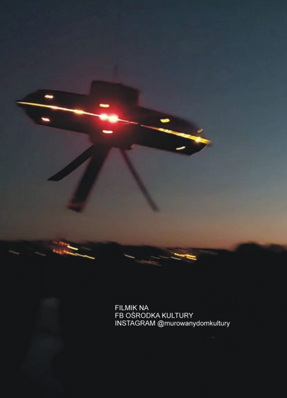 UFO na niebie