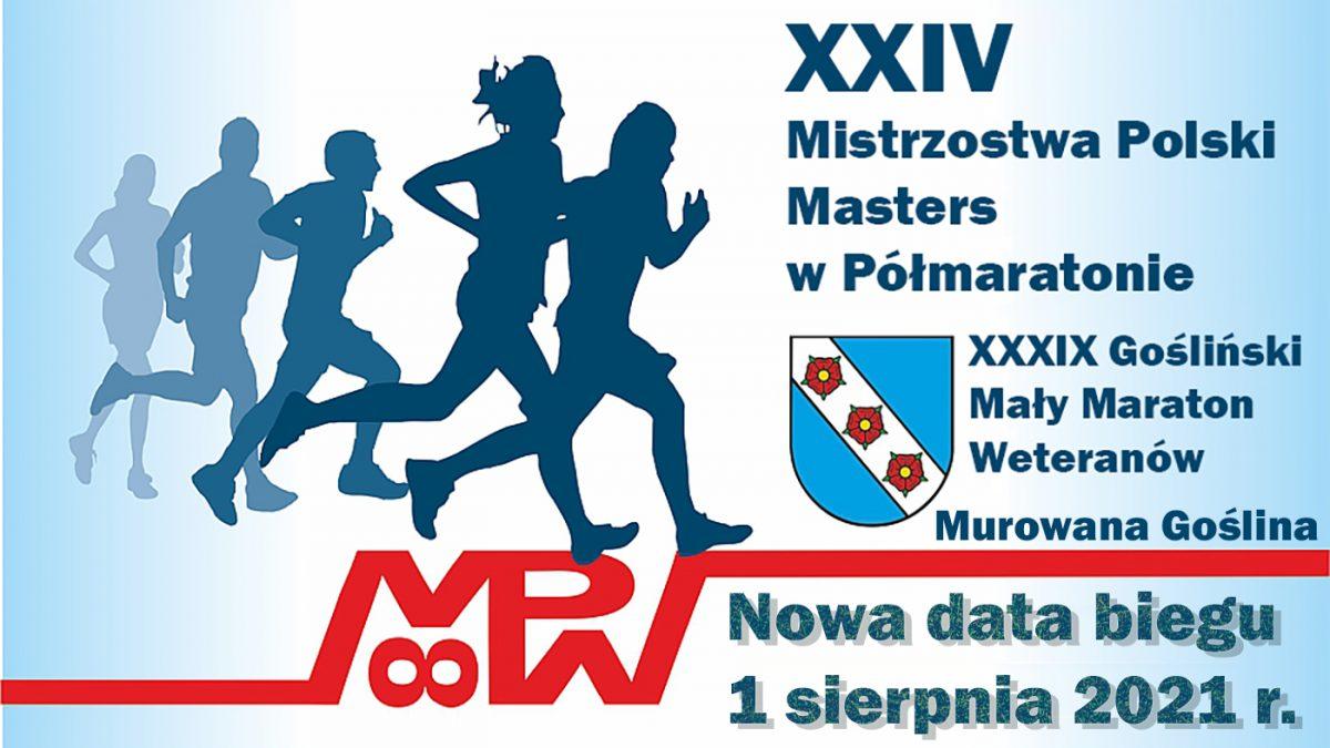 XXIV Mistrzostwa Polski Masters w Półmaratonie w Murowanej Goślinie