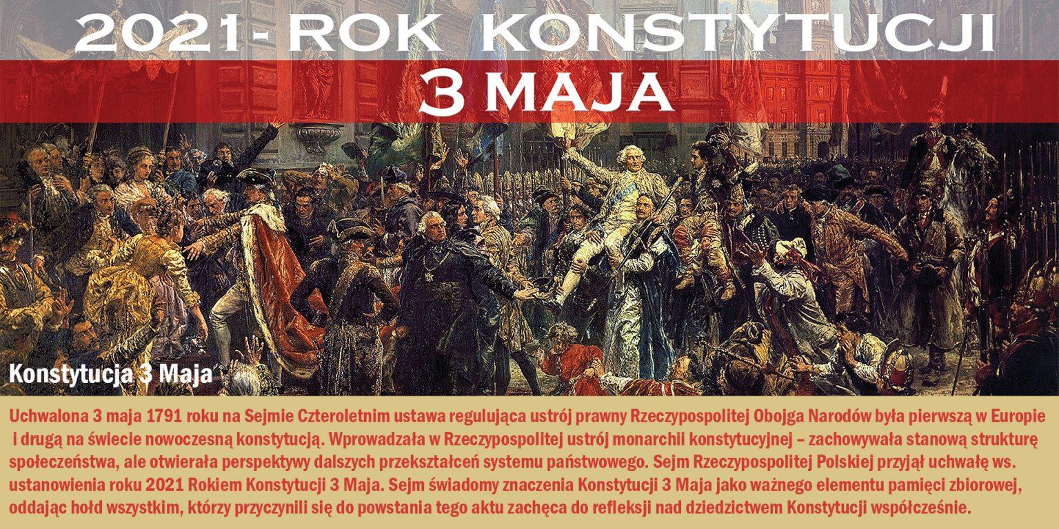 2021 - Rok konstytucji 3 maja